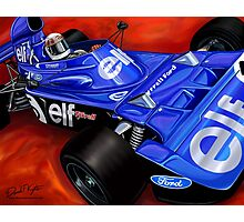 Jackie Stewart Tyrrell Formula One Car Photographic Print