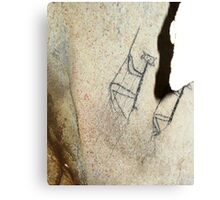 Rope Climbers-Hispanic Caribbean Taino Indian Caves Paintings Canvas Print