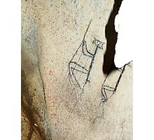 Rope Climbers-Hispanic Caribbean Taino Indian Caves Paintings Photographic Print