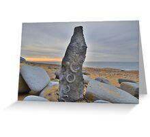 Dorset: Fossil Art Greeting Card