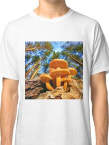 Blackbird Mushrooms Classic T-Shirt