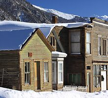 St. Elmo Ghost Town by Eric Glaser