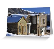 St. Elmo Ghost Town Greeting Card
