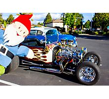 Hot Rod Gus Photographic Print