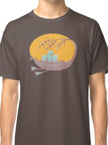 Sweet Dreams of the Owl Pups on their Night Journey Classic T-Shirt