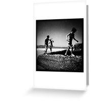 The boys of summer, Terrigal Beach, NSW Greeting Card
