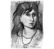 Young Italian Girl. Poster