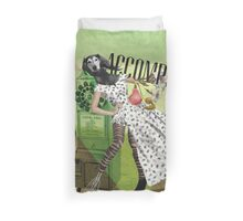 Unshackled, Accomplice by Lendi Hader Duvet Cover