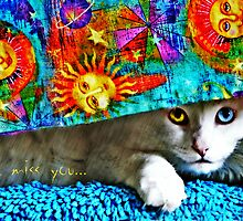 I Miss You - greeting card by Scott Mitchell