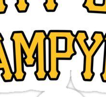 City of Champyinz Sticker