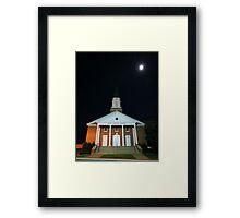 First Baptist Church of Franklin Framed Print
