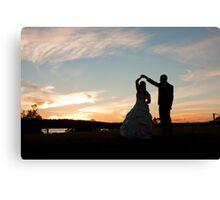 Bridal Waltz Canvas Print
