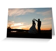 Bridal Waltz Greeting Card