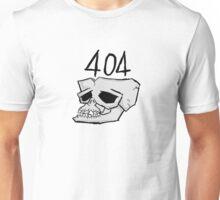404: Brain Not Found Unisex T-Shirt