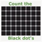 Count the black dot's by Chris-Cox