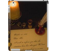 A Knock at the Door iPad Case/Skin