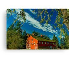My Red Barn Canvas Print