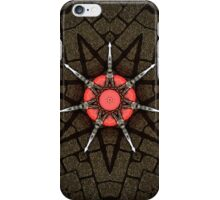 Heart Star 2 - Abstract Pattern of Original Mixed Media Artwork iPhone Case/Skin