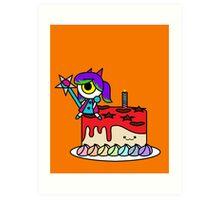 Wacky Cake Art Print