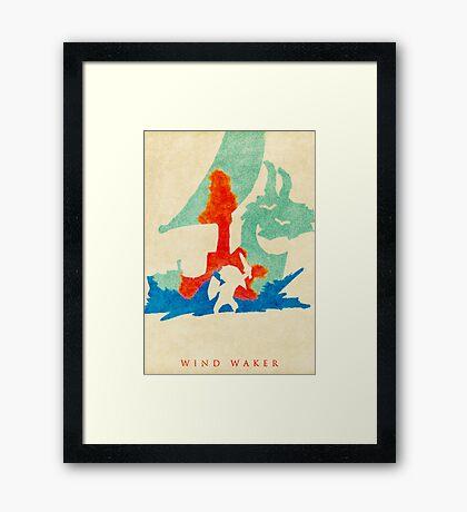 Waker Framed Print