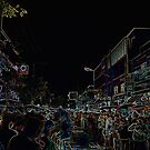 Chiang Mai Night Market by David J. Hudson