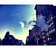 City Steam Photographic Print