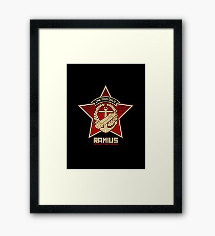 One Ping Only Framed Print