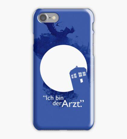 """""""Ich Bin Der Artz"""" Doctor Who iPhone Case iPhone Case/Skin"""