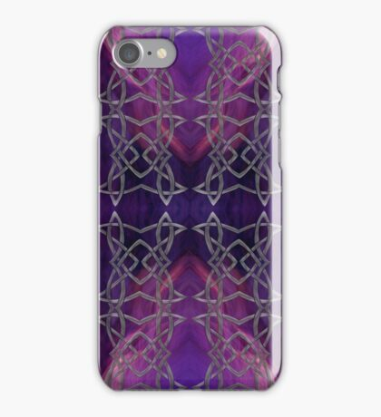 Celtic Heart Purple iPhone Case/Skin