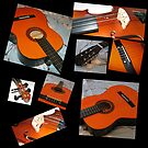 Homage to Rodrigo - Guitar and Violin Collage by BlueMoonRose