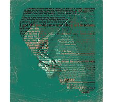 Typographic Icons - KiD CuDi Photographic Print
