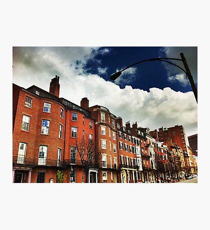 Boston Row Photographic Print