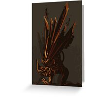 Fallen Valkyrie Greeting Card