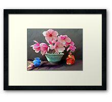 Early Spring Still Life Framed Print
