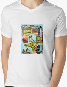Born 2 Mens V-Neck T-Shirt