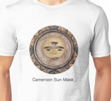 Sun Mask from Cameroon Unisex T-Shirt