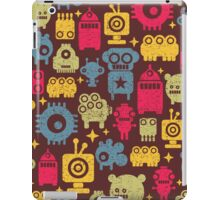 Robot and monsters. iPad Case/Skin