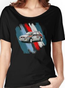 Lancia Veloce Delta Women's Relaxed Fit T-Shirt