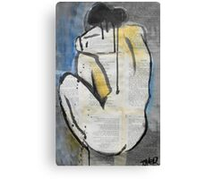 woman from behind Canvas Print