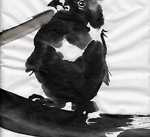 Sumi Bird by Trevett  Allen