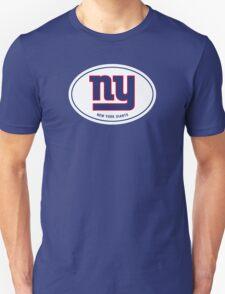 ny GIANTS - Euro Sticker T-Shirt