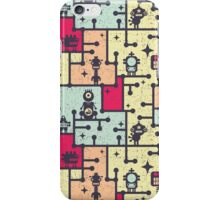 Robotos on the tree. iPhone Case/Skin