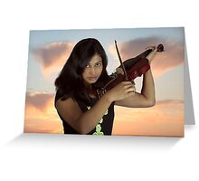 Love for Music Greeting Card