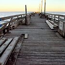 Pier Sunset by Robin Lee