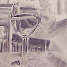Wine Glasses with Water by trevettallen