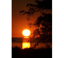Salvo Sunset Photographic Print