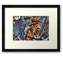High Voltage (Vegas) Framed Print
