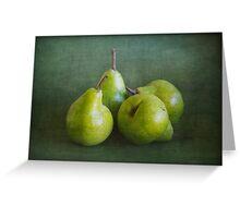 Pears 4 Greeting Card