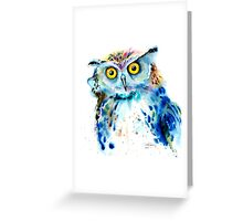 """Owl"" Greeting Card"