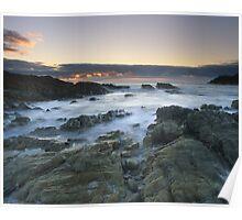 """Sea of Solitude"" ∞ Mimosa Rocks, NSW - Australia Poster"